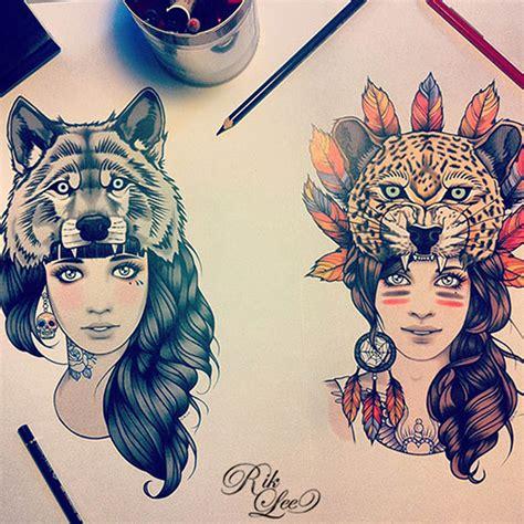 animal tattoo female tattoothink el mundo de los tatuajes piercings y