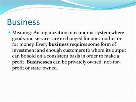 Business Environment Notes For Mba 1st Sem by Business Environment Mba