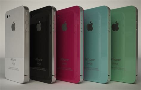 iphone 4 colors colored iphones to make a splash at wwdc 2010