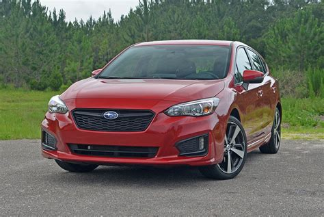 hatchback subaru 2017 2017 subaru impreza 2 0i sport hatchback review test drive