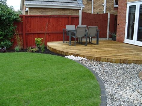 decking ideas for small gardens raised decking ideas for small gardens garden design