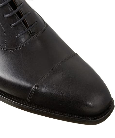 jones shoes oxford crockett and jones black hallam leather oxford shoes in