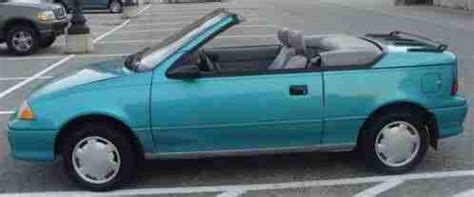 geo metro lsi convertible 1993, selling a with automatic