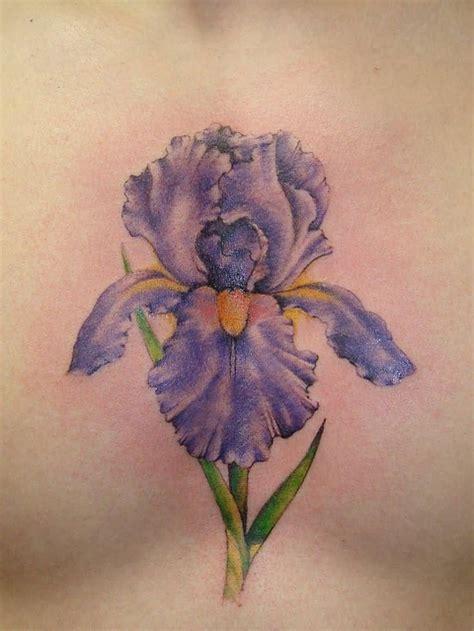 iris tattoos 40 wonderful iris flower tattoos iris