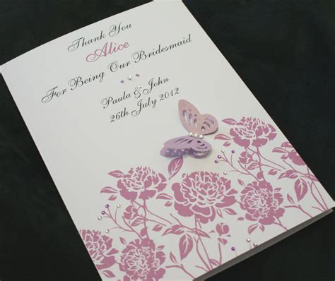 Handmade Greetings Cards Uk - large handmade personalised thank you card parents