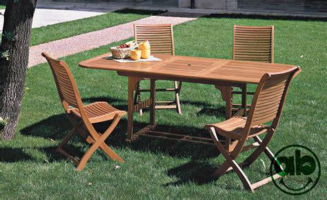 tavoli per giardino tavolo allungabile per esterno giardino in legno balau