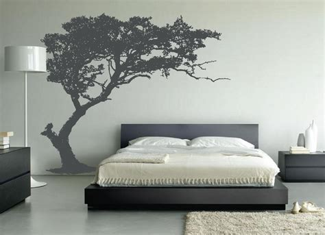 large wall tree decal forest decor vinyl sticker highly detailed removable nursery