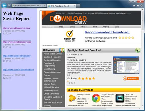 download mp3 from web page online web page saver 1 0 free download software reviews