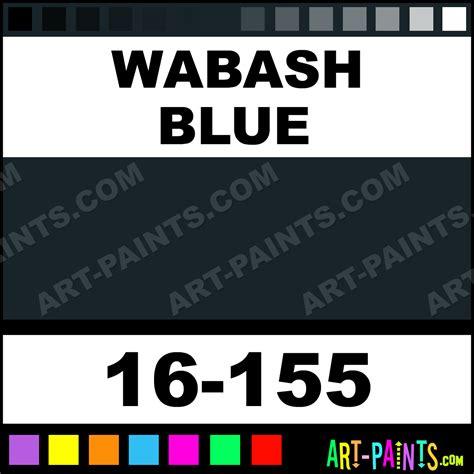 Sprei Railway wabash blue modelflex railroad airbrush spray paints 16