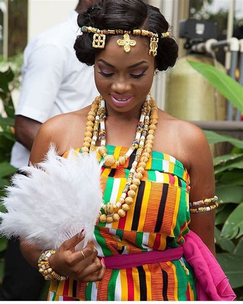 nice kente styles for weddind beautiful brides in kente that ll make you want to get