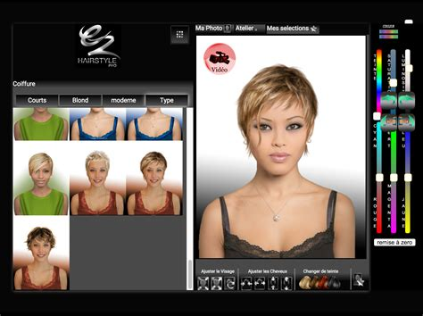 changer de coiffure changer de coiffure sur photo coiffures f 233 minines et