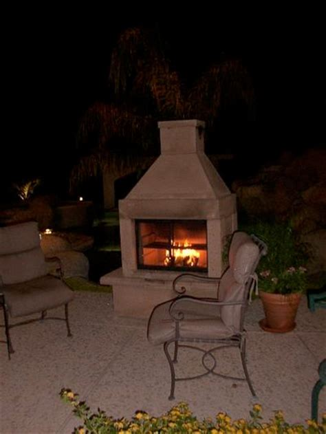 Fireplace Kit The Ease Of Outdoor Fireplace Kits