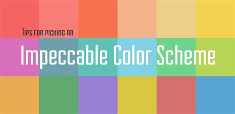 color themes tips for picking an impeccable color scheme go media
