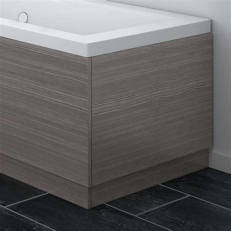 Bath Taps With Shower brooklyn grey avola wood effect end bath panels various