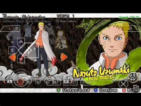 mod game naruto ultimate ninja impact naruto shippuden ultimate ninja impact final mod pack