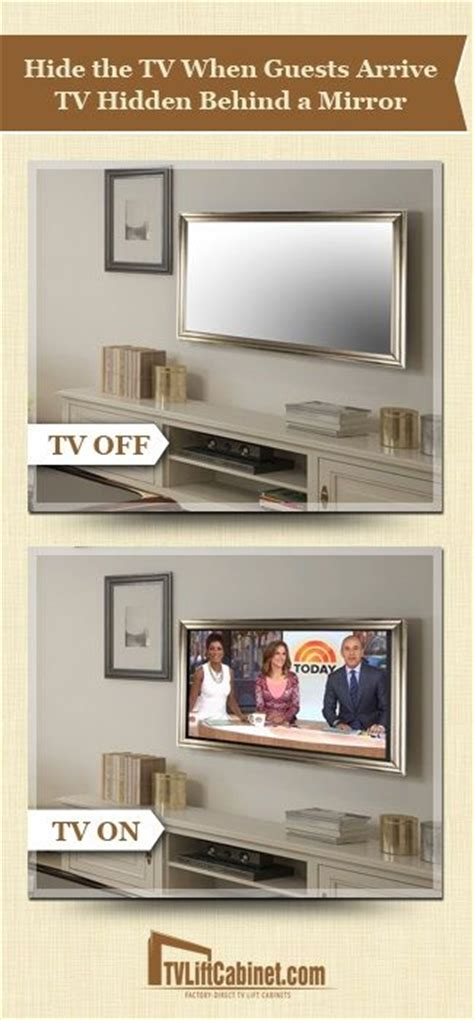 Pop Up Tv That Hides In The Fireplace by 25 Best Ideas About Hide Tv On Tv