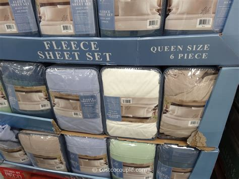 life comfort fleece sheet set life comfort fleece sheet set costco 5 hollsfitlife