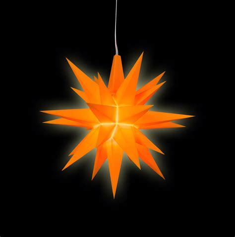 www herrnhuter sterne herrnhuter a1e orange kunststoff sonderedition 2016