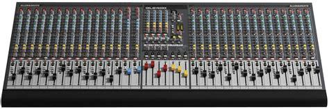 Mixer Allen Heath Gl allen heath gl2400 40 live console mixer credo