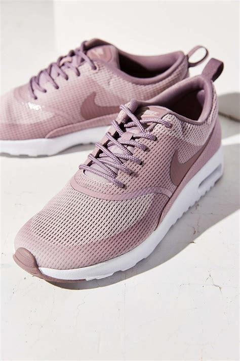 nike thea sneakers nike air max thea textile sneaker in purple lyst