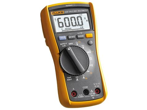 Multitester Fluke 117 fluke 117 electrician s multimeter with non contact voltage detection tequipment net