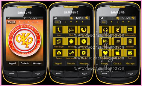 themes samsung alpha choozhang corby cat samsung corby 2 or s3850 alpha