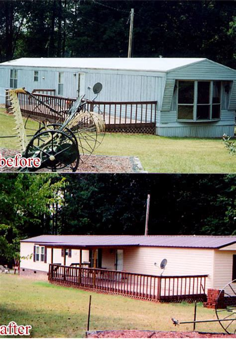 mobile home renovation before and after pics mobile