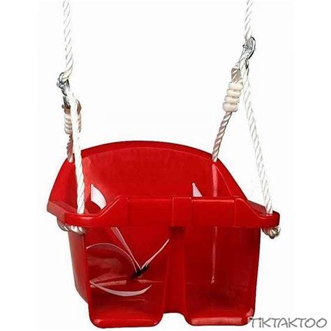 baby rope swing baby swing seat with rope set tiktaktoo