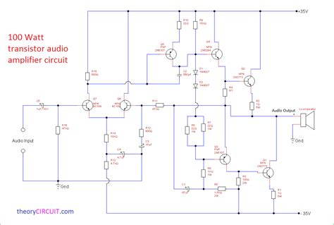 Power Lifier transistor audio lifier circuit diagram wiring diagram
