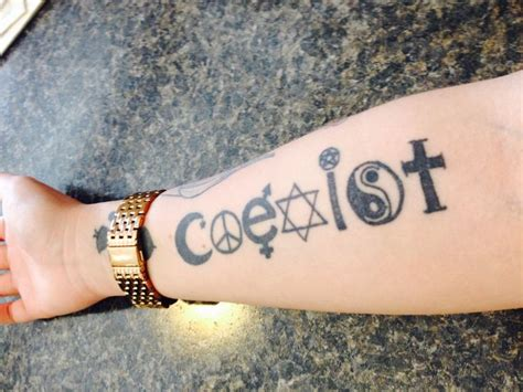 25 best ideas about coexist on