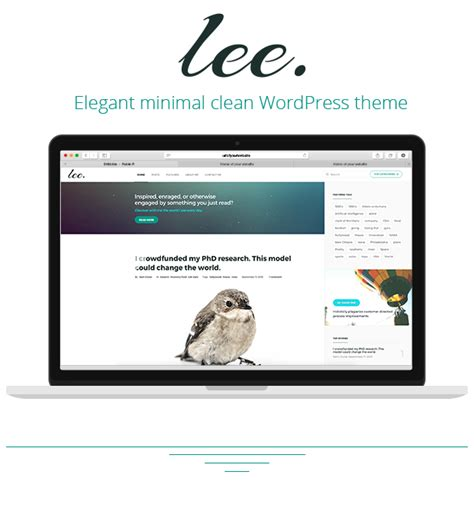 theme wordpress blog themeforest