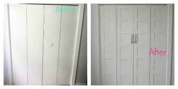 Cost To Redo Kitchen Cabinets remodelaholic bi fold to paneled french door closet makeover