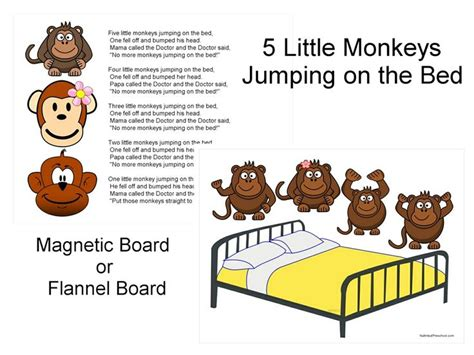 5 little monkeys jumping on the bed nursery rhyme 11 best five little monkeys book projects images on