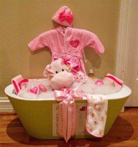 bathroom gift ideas baby shower bath tub basket my creations pinterest