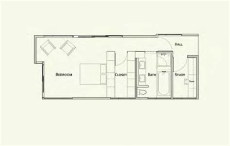 piecehomes master suite floor plan modernprefabs