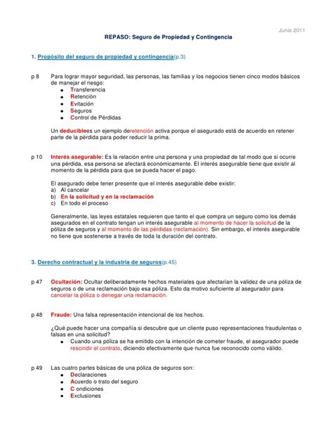 preguntas examen de conducir neuquen repaso examen de licencia de productor de seguros p c 2011