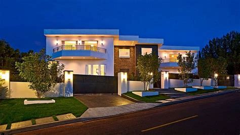 big modern houses expansive family residence in bel air by dream project la