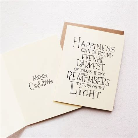 harry potter quote card happiness albus dumbledore quote card encouragement greeting card