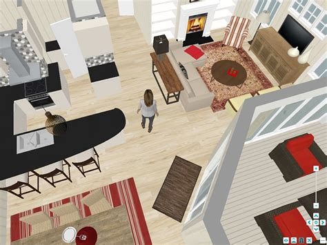 attractive Free Online Room Design Tool #4: RoomSketcher-Live-3D-Virtual-Walkthrough-Example-2.jpg