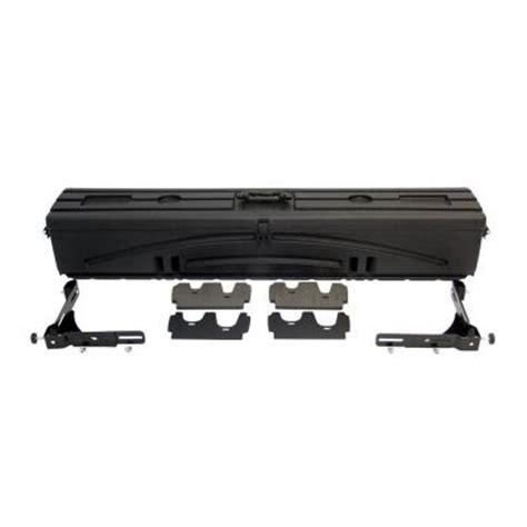 truck bed gun storage du ha humpstor truck bed storage unit tool box gun case