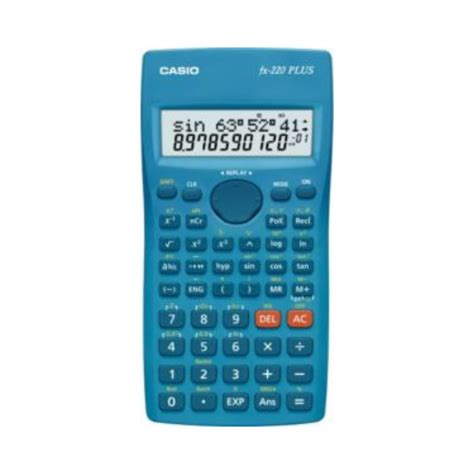 calcolatrice casio calcolatrice scientifica fx220 plus 181 funzioni casio