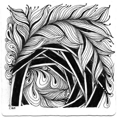 zentangle pattern umble open seed arts featherfall