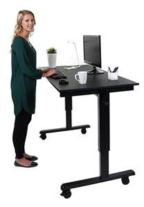 the height adjustable standing desk crank or electric