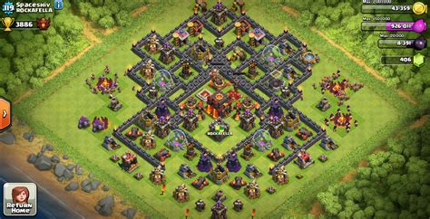 town hall 10 base war town hall 10 bases clean sweep