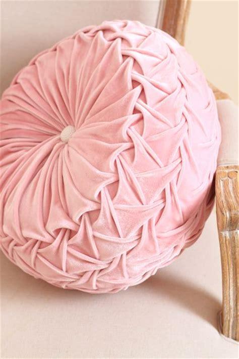 plush velvet pink pillow velvet pillow shabby chic
