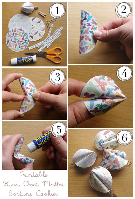 fortune cookie paper and how to make on