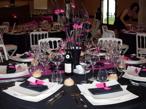 theme rose et noir mariage d 233 co table noir rose du 5 mai 2012 le blog de lae deco