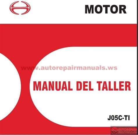 manual motor hino manual autos post