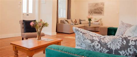 two sitting areas cottage living room sherwin grahamstown accommodation somerset cottage grahamstown