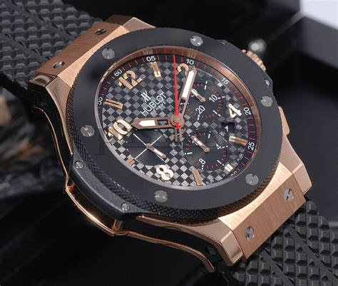 hublot quot big quot chronograph in 18kpg ceramic